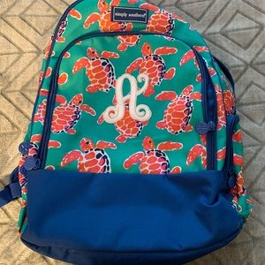 Simply Southern backpack w/ monogram